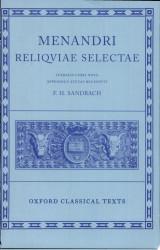 Menandri Reliquiae selectae