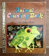 A Little Golden Book Animal Counting Book #584