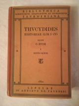 Thucydides Historiae (Lib.i-iv)