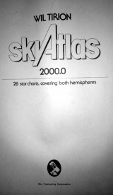 Sky Atlas 2000.0 Field Edition