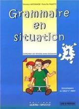 Grammaire En Situation 1 Professeur N/E