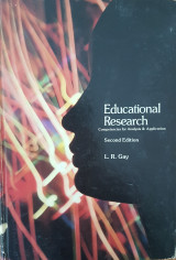 Educational Research - Competencies for Analysis & Application