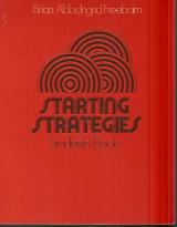 Starting Strategies