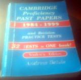 Cambridge Proficiency Past Papers 1984-1999