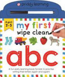 My First Wipe Clean ABC