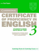 Cambridge Certificate of Proficiency in English 3 Student's Book with Entry Test