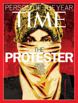 Time magazine 2012 The protester